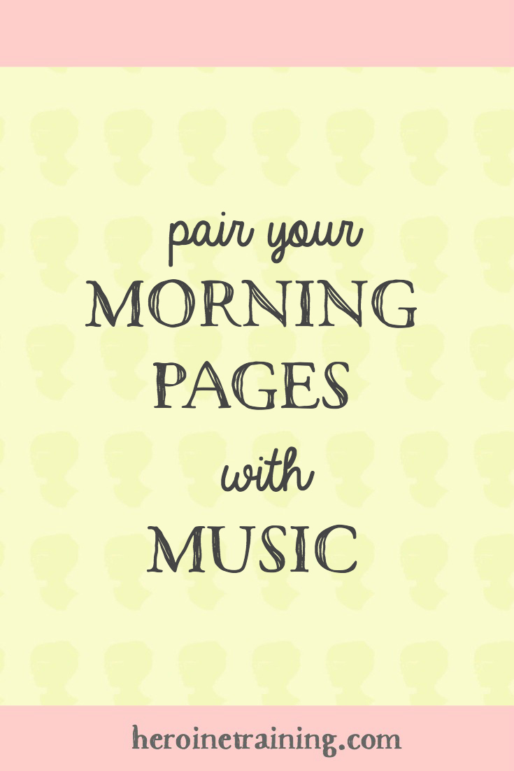Musical Morning Pages