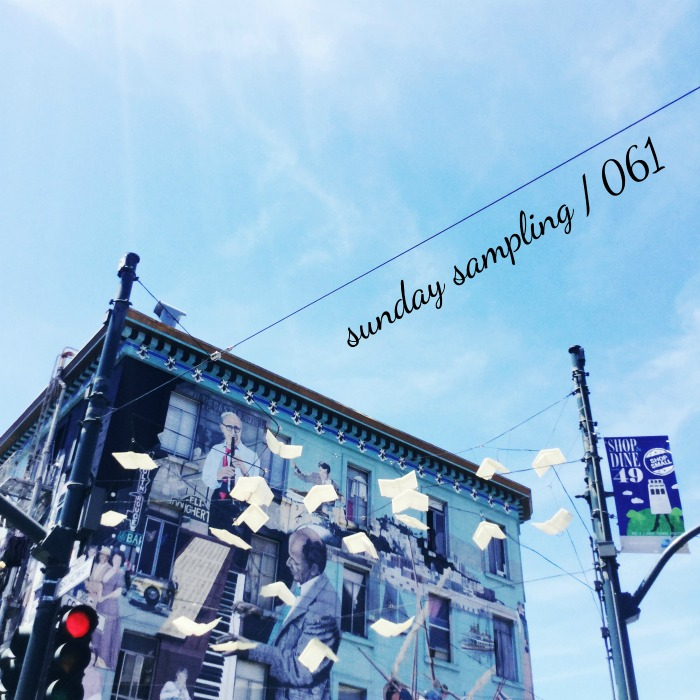 Sunday Sampling / 061