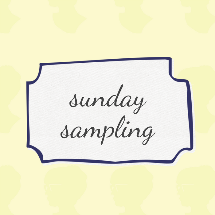 Sunday Sampling / 067