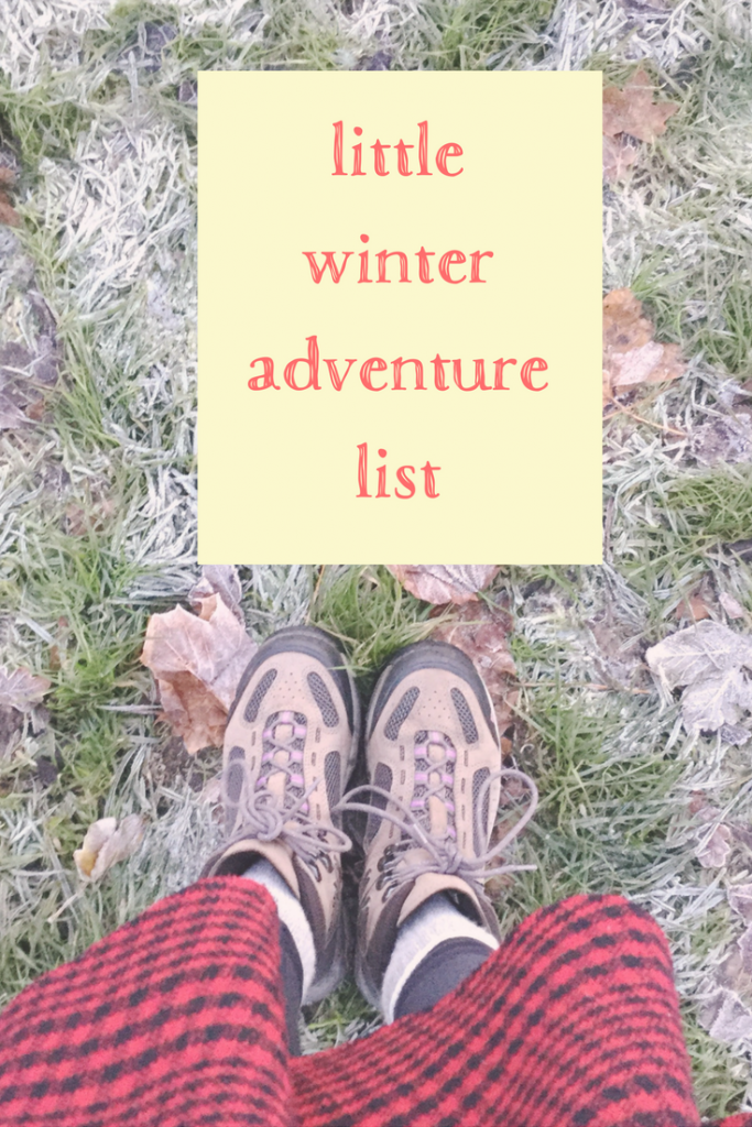 little winter adventure list