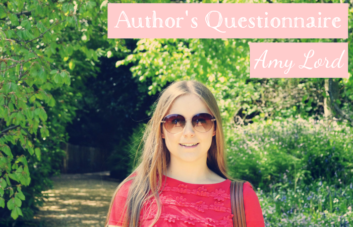 Author's Questionnaire 001: Amy Lord