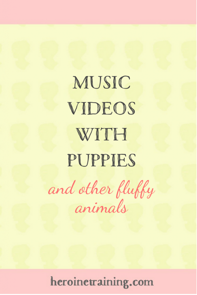Music Videos with Puppies