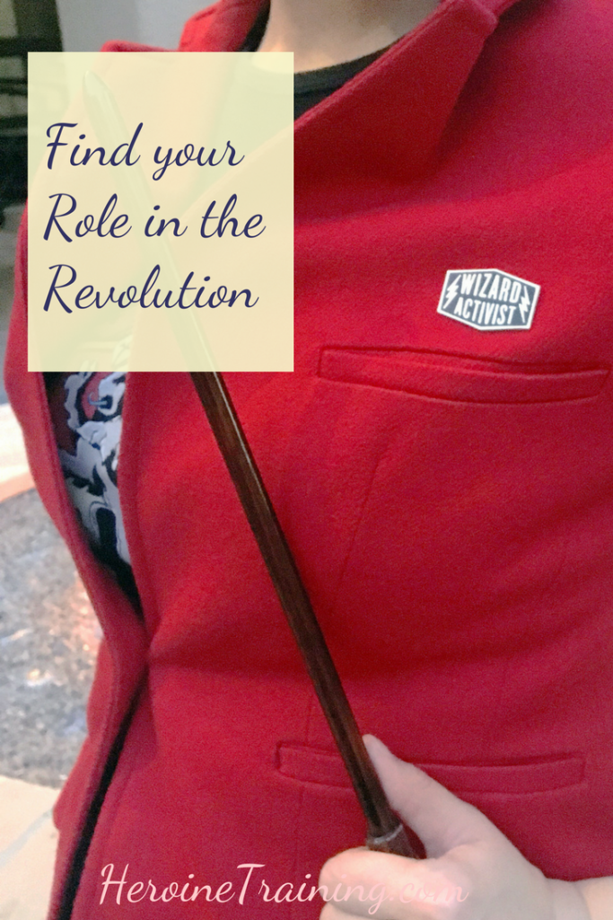 Find Your Role in the Revolution: Rebel in Your Own Way