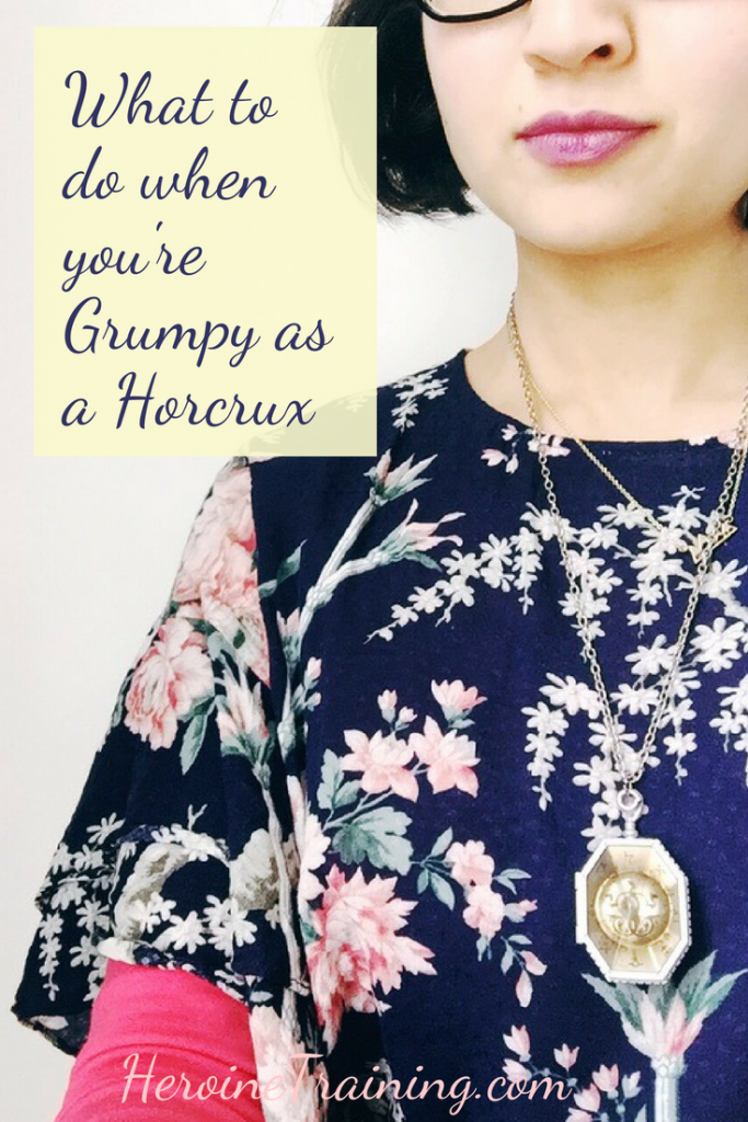 What to Do When You're as Grumpy as a Horcrux