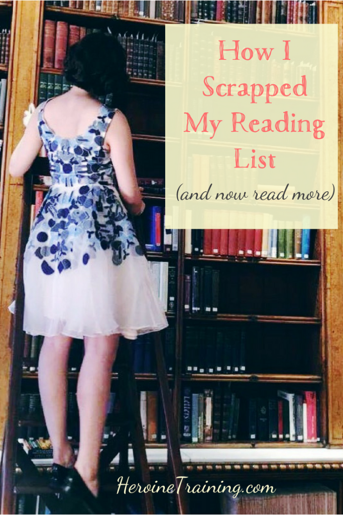 Scrap the Reading List