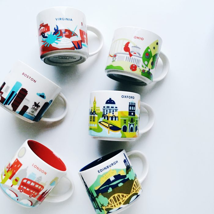 My Starbucks Mug Collection: How I Honour My Homes