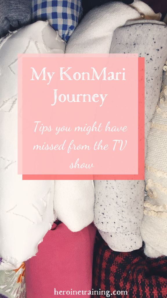 My KonMari Journey: what you might have missed if you went straight to the Tidying Up tv show on Netflix.