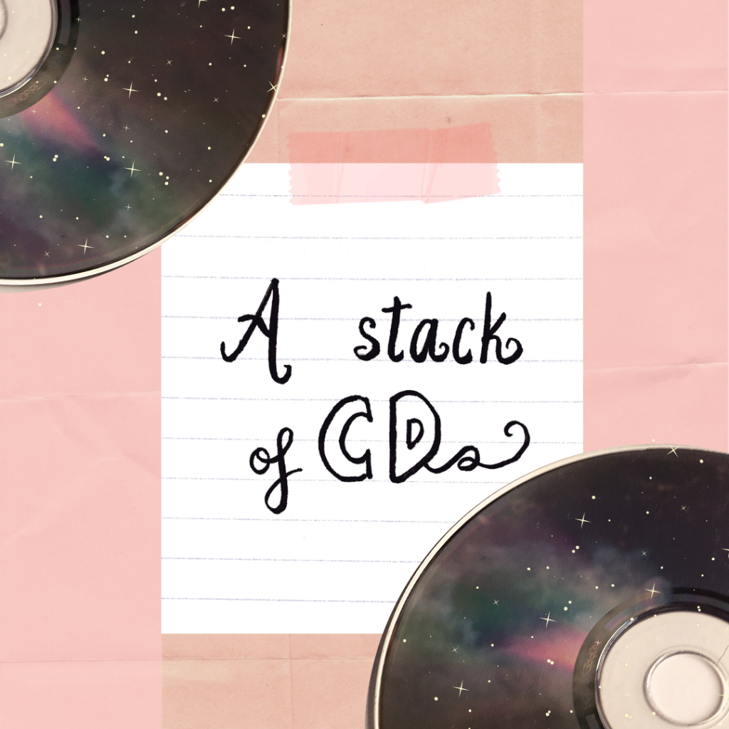 A Stack of CDs