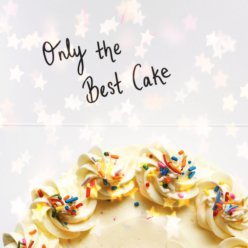 Only the Best Cake